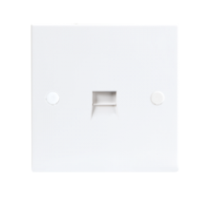 3/3A FLUSH EXTENSION TELEPHONE SOCKET - IDC