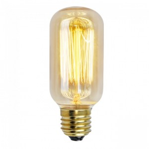 18832  SQUIRREL CAGE TUBULAR SHAPE ES/ E27 40W DECORATIVE BULB