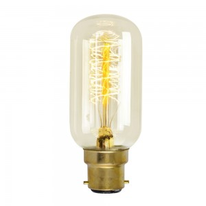 18889  RADIO VALVE SQUIRREL BC/ B22 30W DECORATIVE BULB - AMBER
