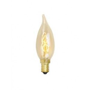 18890  SQUIRREL SES/ E14 30W DECORATIVE CANDLE BULB