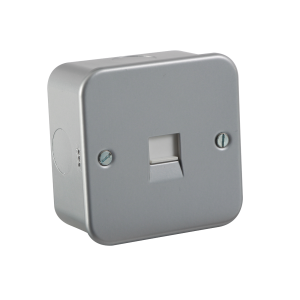 M7300 METAL CLAD TELEPHONE MASTER SOCKET
