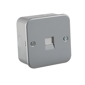 M7400 METAL CLAD TELEPHONE EXTENSION SOCKET
