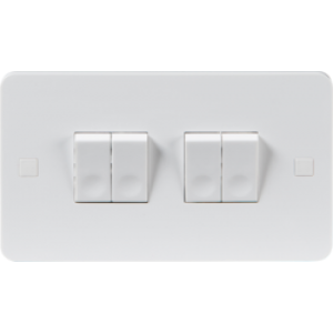 PURE 10A 4G 2 WAY SWITCH - 4MM