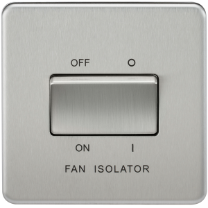 SF1100 SCREWLESS 10A 3 POLE FAN ISOLATOR SWITCH
