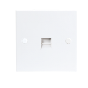 TEL/FLUSH MASTER SOCKET (SCREW TERM) 3/4A
