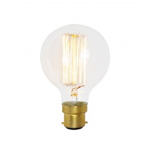 17788   SQUIRREL CAGE GLOBE 60W BC/ B22 DECORATIVE BULB