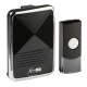 DC001  WIRELESS DOOR CHIME - BLACK (200M RANGE)