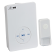DC008 WIRELESS MP3 DOOR CHIME - WHITE (200M RANGE)