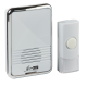 DC003 WIRELESS PLUG IN DOOR CHIME - WHITE (80M RANGE)