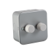 M2162 METAL CLAD 2G 2 WAY 60-400W DIMMER SWITCH