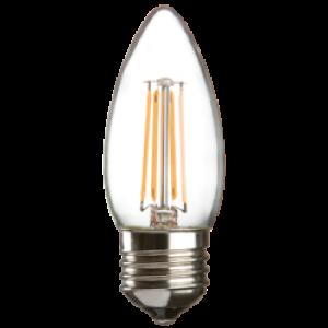 CL4ESC 230V 4W LED 35mm Candle ES clear