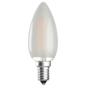 CL4SESO 230V 4W LED 35mm Candle SES FROSTED