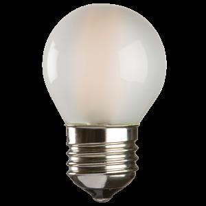 GB4ESO  230V 4W LED 45mm Golf Ball ES FROSTED