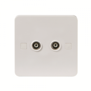 PURE ISOLATED TV/FM OUTLET - 4MM