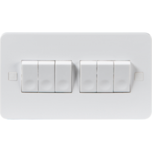 PURE 10A 6G 2 WAY SWITCH - 4MM