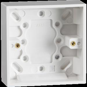 ST1400 25MM SINGLE PATTRESS BOX  (PACK OF 10)