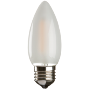 CL2ESO 230V 2W LED 35mm Candle ES FROSTED