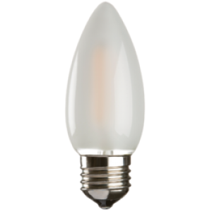 CL4ESO  230V 4W LED 35mm Candle ES FROSTED