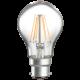GLS6BCC  230V 6W LED 60mm GLS BC CLEAR