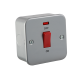 M8331N METAL CLAD 45A DP SWITCH WITH NEON - SINGLE SIZE