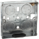 1G 16MM GALVANISED STEEL BOXES (PACK OF 10)