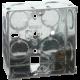 1G 35MM GALVANISED STEEL BOX(PACK OF 10)