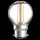 GB4BCC   230V 4W LED 45mm Golf Ball BC CLEAR