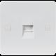 PURE FLUSH TELEPHONE MASTER SOCKET (IDC)- 4MM