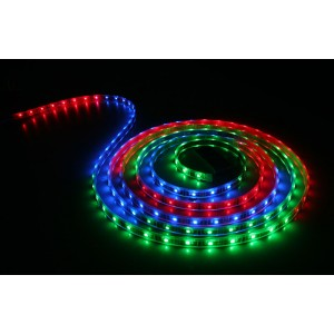 S2N FLEXIBLE LED 12V IP65 RGB 6500K (5 METRES) WITH DRIVER AND REMOTE