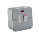 M6300N  METAL CLAD 13A SWITCHED FUSED SPUR UNIT WITH NEON